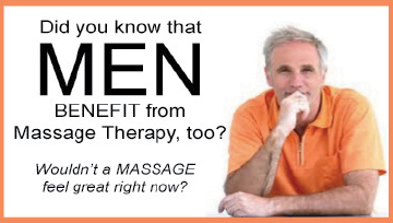 men benefit from massage in longmont too!